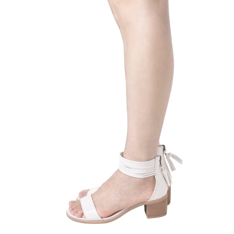 81886cdcce6 TOETOS Women s Ivy Fashion Block Heel Sandals  1540900843-61412  -  15.83