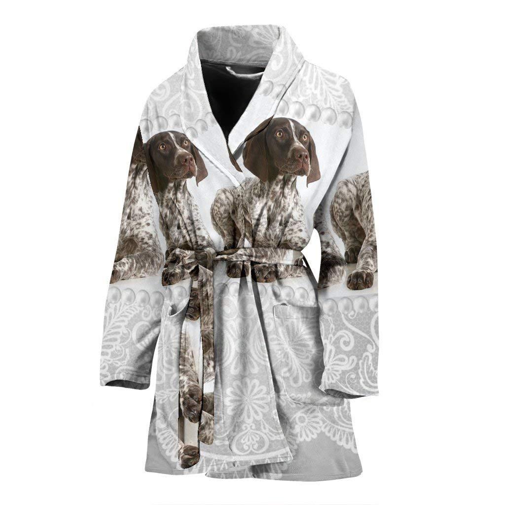 Simply Cool Trends Amazing English Springer Spaniel Dog Print Women's Bath Robe