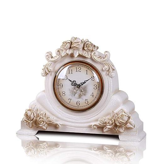 &Reloj de escritorio Reloj de mesa Vintage Retro Sala de estar ...