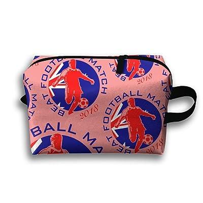 Best Football Match 2018 Australia Portable Multifunction Cosmetic Bags Travel Case Makeup Waterproof Organizers