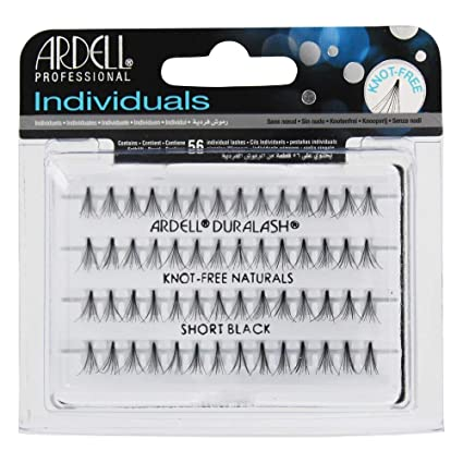 1f538617c4c Amazon.com : Ardell Duralash Naturals Flare Short Black (56 Lashes) (6  Pack) : Fake Eyelashes And Adhesives : Beauty