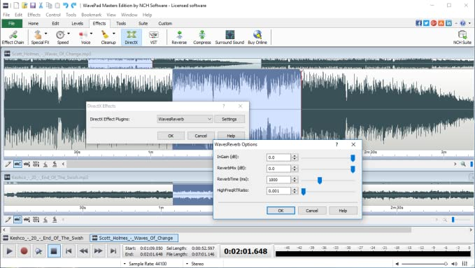 WavePad Audio Editing Software - Professional Audio and Music Editor for  Anyone [Download]