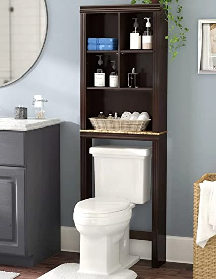 Bathroom Cabinet Organizer | Amazon Com Bathroom Storage Space Saver Over Toilet Cabinet