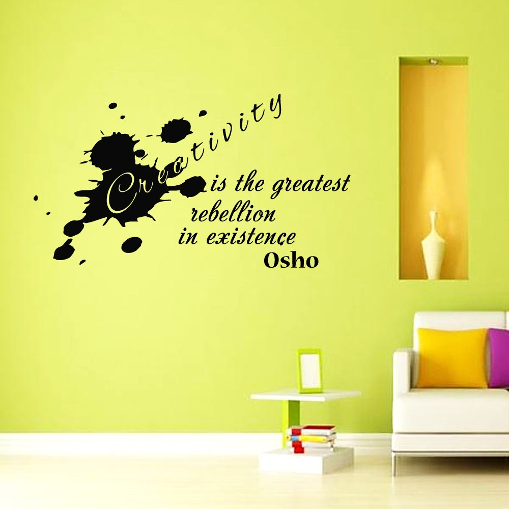 Creativity is the greatest rebellion in existence OSHO Quote Yoga ...