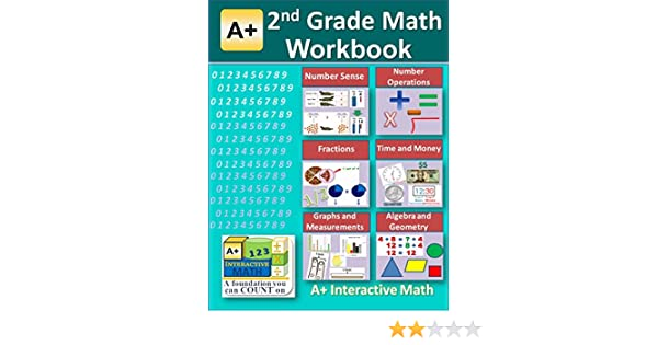 2nd Grade Math Workbook (Printed B&W Plasti-coil bound) (125