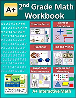2nd Grade Math Workbook (Printed B&W Plasti-coil bound) (125 ...