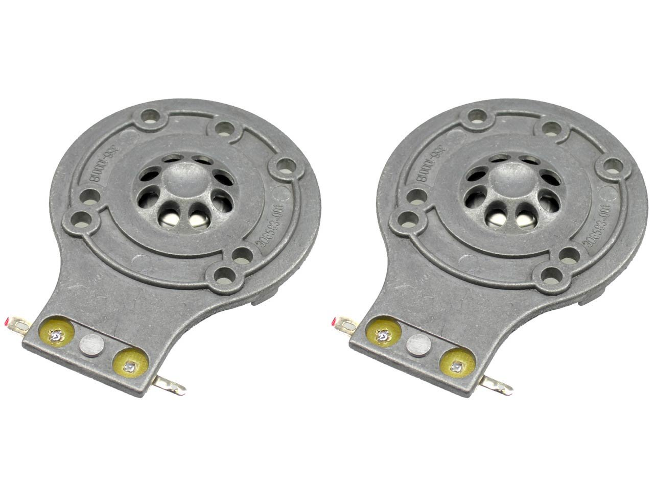 SS Audio Diaphragm for JBL 2412H, 2412H-1, 2413, JRX, TR Series, MPro, Sound Factor, D-2412-2 (2 PACK) by Simply Speakers