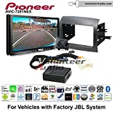Volunteer Audio Pioneer AVIC-7201NEX Double Din Radio Install Kit with GPS Navigation Apple CarPlay Android Auto Fits 2004-2010 Toyota Sienna with Amplified System