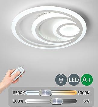 Modern LED Decken Beleuchtung Dimmbar Deckenlampe Runden Kreative Design  Deckenleuchte Sconce Dekoration Innenbeleuchtung Hochwertigem Wohnzimmer  Leuchte