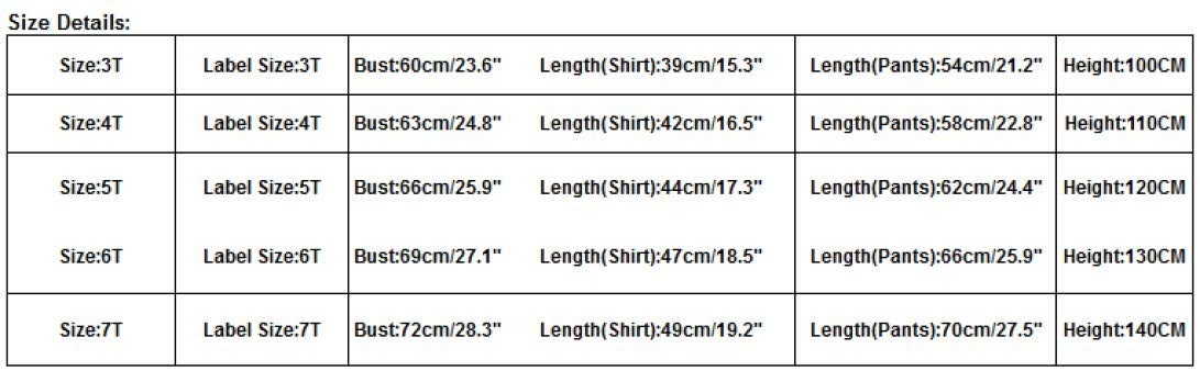 Fashion Casual 1Set Kids Toddler Boys Handsome Black Long Sleeve T Shirt Top Blouse Pants Sports Clothes (black, 6T) by Aritone - Baby Clothes (Image #3)