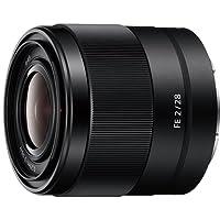 Sony SEL28F20 Obiettivo Grandangolare con focale fissa E 28 mm F2, Nero