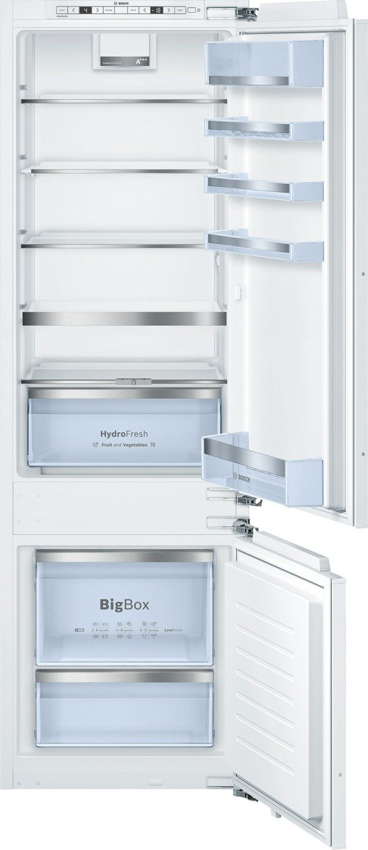 Bosch KIS87AD40 Serie 6 Kühl-Gefrier-Kombination / A+++ / 177, 20 cm Höhe / 149 kWh/Jahr / 208 L Kühlteil / 61 L Gefrierteil / LED-Beleuchtung [Energieklasse A+++]