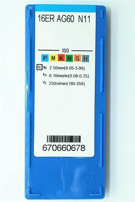High quality 10P IR 16ER AG60 N11 CNC Threade Carbide insert for  aluminum