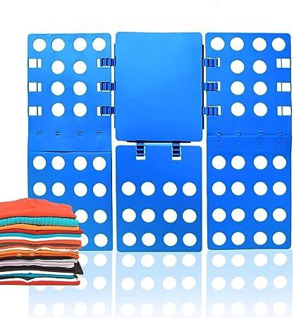 ValueHall Doblador de Ropa, Tabla para Doblar la Ropa para Doblar Vestidos Pantalones y Camisetas V7031-1 (Azul)