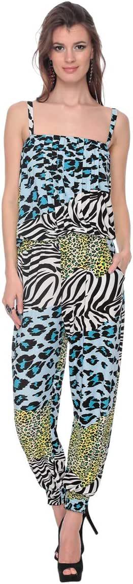 Cocum Trifolia Strap Jumpsuit for Women - 8 UK, Multi Color
