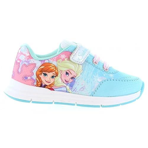 Zapatillas Deporte de Niña Disney FZ004003-B2049 White-Silver: Amazon.es: Zapatos y complementos