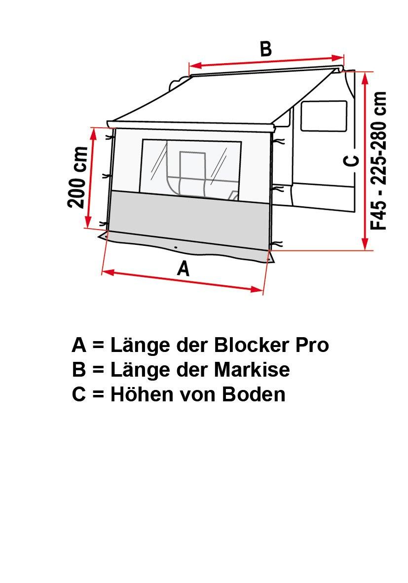 Fiamma 97960‐02‐ Frontplatten Blocker Pro 250