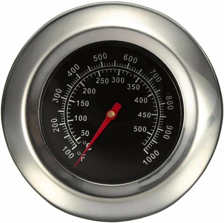 BNFUK Dia 3 Pouce Degr/és Celsius//Fahrenheit 50~500 Degr/és Celsius R?ti De Barbecue Barbecue Fumoir Grill Thermom/ètre Therm Jauge