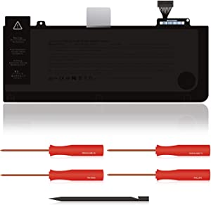Atcuji 63.5Wh A1322 Battery for Mid 2009 2010 2012 Early 2011 Late 2011 Apple MacBook Pro 13