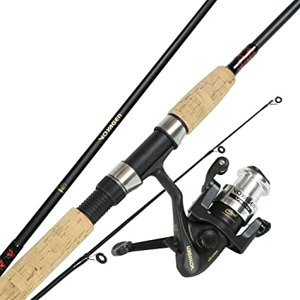 Amazon Com Okuma Vs 605 20 Voyager Spinning Travel Kit Spinning Rod And Reel Combos Sports Outdoors