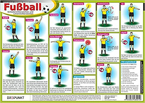 Fussball Schiedsrichterzeichen Erkennen Von Entscheidungen