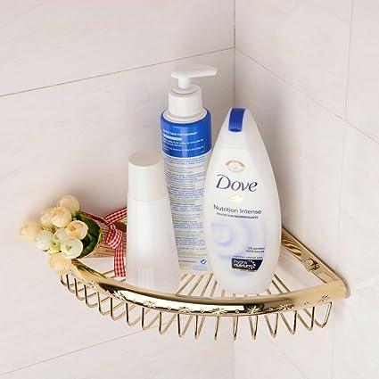 Amazon.com: Hiendure Solid Brass Bathroom Shower Basket 88 Inches ...