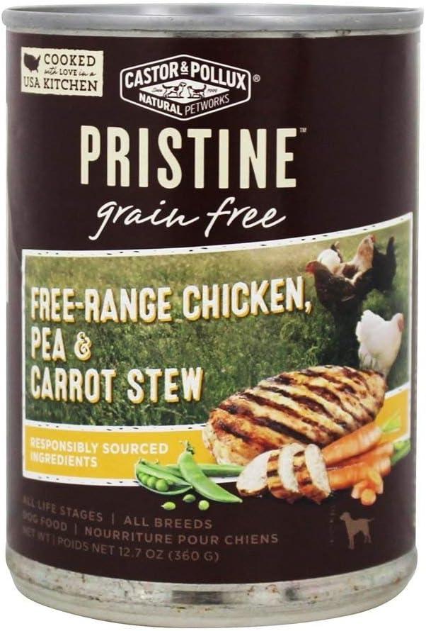 CASTOR & POLLUX Stew Organix Chicken Pea Carrot, 12.7 OZ