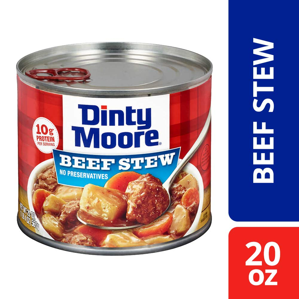 Amazon.com: DINTY MOORE Beef Stew with Fresh Potatoes & Carrots 20 ...