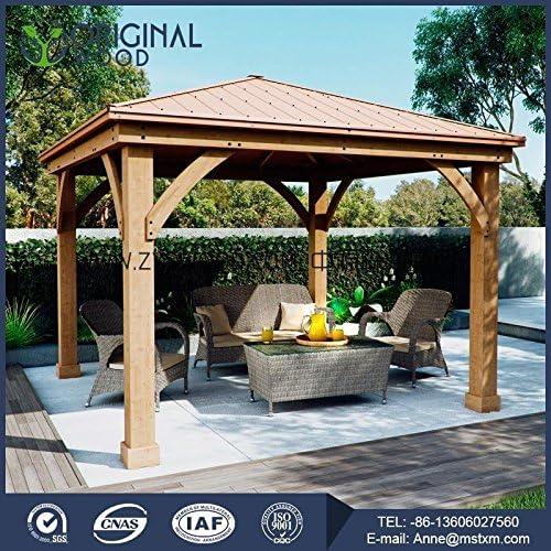 Nuevo diseño pino – madera Pagola/jardín Pavilion (sin instalación ...