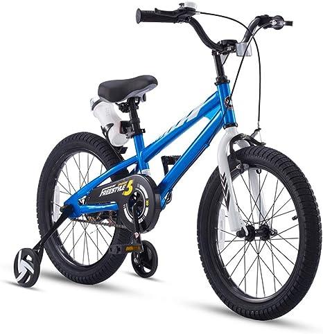 Bicicleta para niños 12/14/16/18 Pulgadas Bebé niña, neumáticos ensanchados 2-8 años Cochecito de niño A ++: Amazon.es: Deportes y aire libre