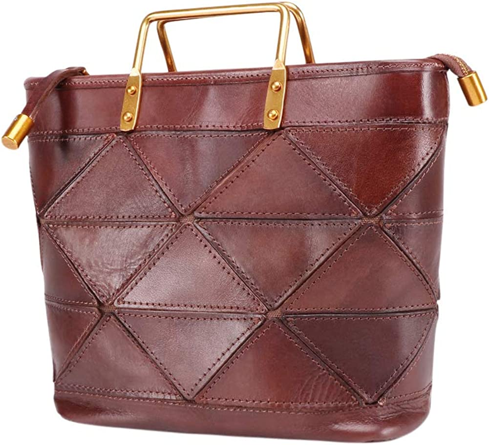 Garyesh Shoulder Bag for Women Leather Handbags Top-handle Tote