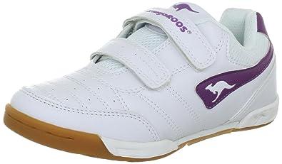 KangaROOS Lemar 11080/063 - Zapatillas de deporte para niños, color blanco, talla 29