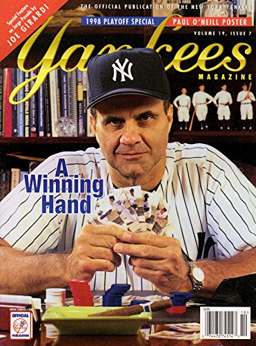 Yankees Magazine, Volume 19, No. 7, October 1998 - 1998 Playoff Special Issue