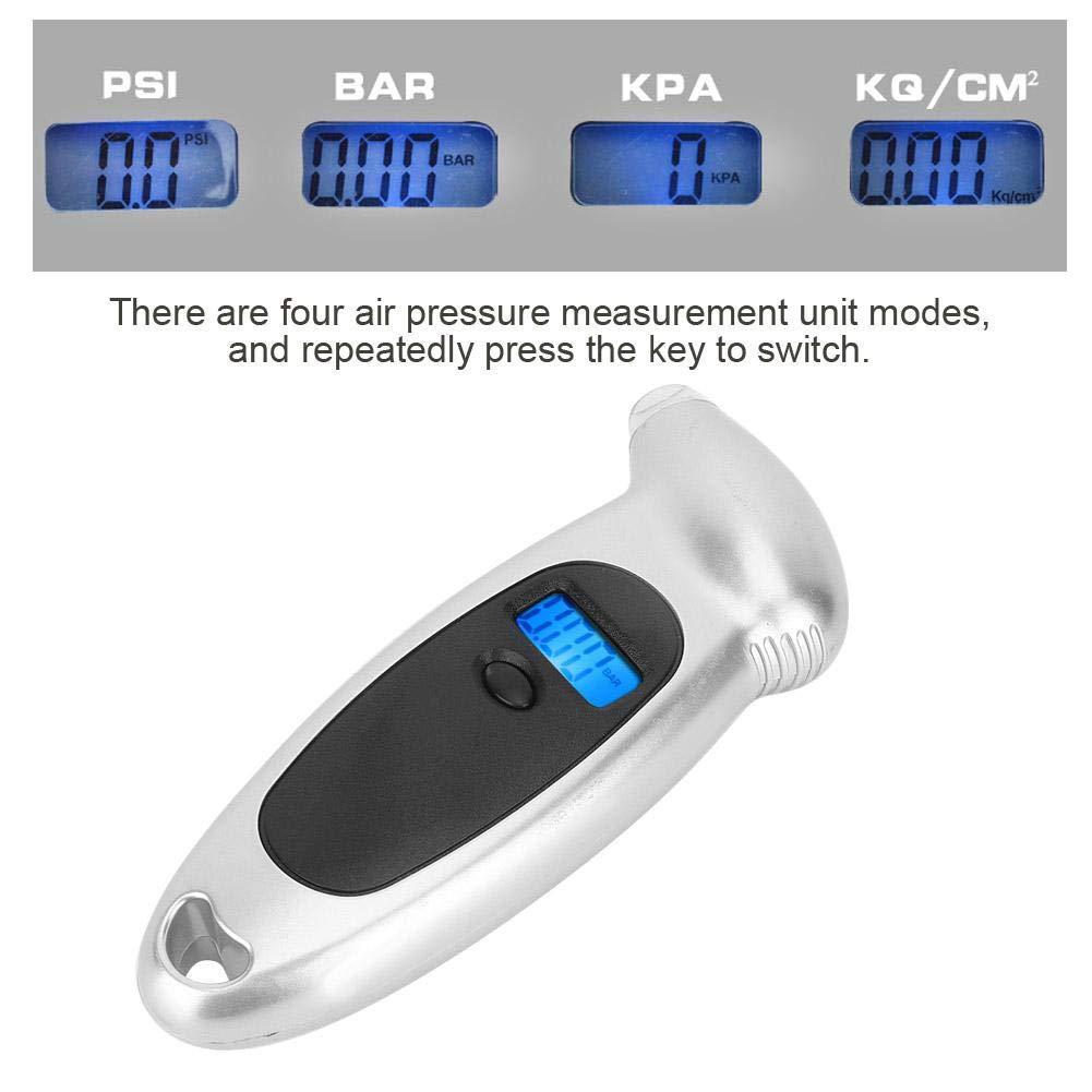 LED Digital Display Car Tire Pressure Gauge Electronic Tire Pressure Gauge Tester Suuonee Car Tire Pressure Gauge