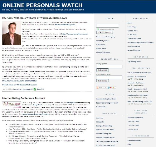 Online dating personals watch
