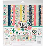 Echo Park Paper Company JBY119016 Collection Kit Just Be You Collection Kit