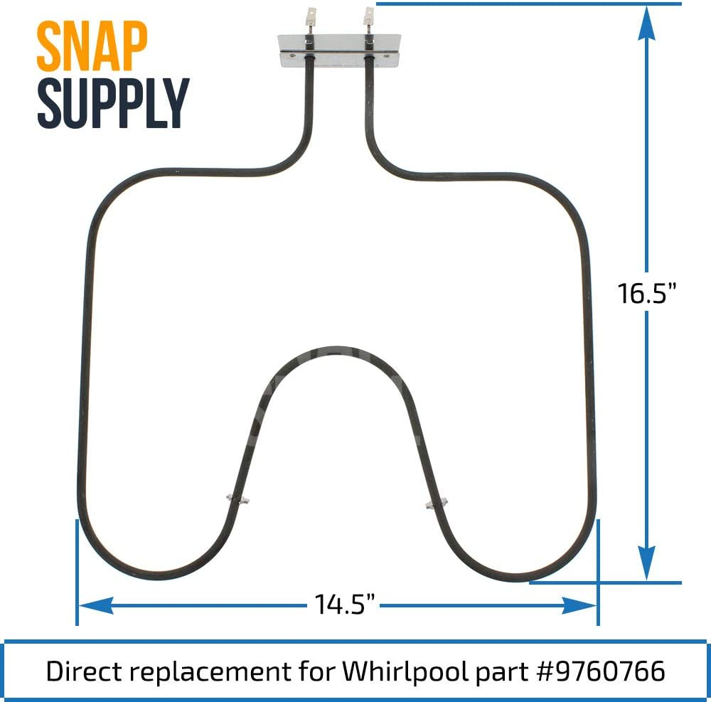 Oven Bake Element For Whirlpool W10207397 AP6017074 PS11750369