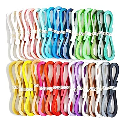 Juya Tant Paper Quilling Set 1280 Strips 32 Colors 39cm Length/strips