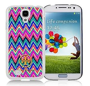 New DIY Custom Design Cover Case For Samsung Galaxy S4 I9500 i337 M919 i545 r970 l720 Tory Burch 23 White Phone Case