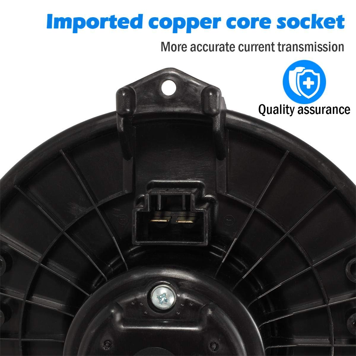 Engine Cooling & Climate Control AUTEX HVAC Blower Motor Assembly ...