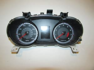 08-09 Pontiac G8 Instrument Cluster Speedometer 83,077 Warranty #22302