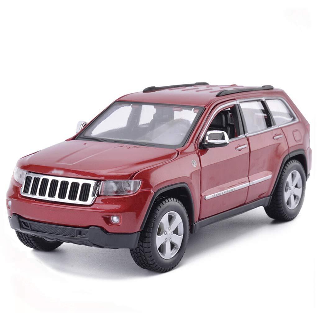 DUWEN-Modello di auto Fuoristrada Modello 1 24 Lega Modello di emulazione Auto Giocattolo Collezione Ornamenti Regalo Ragazzo (colore   Red)