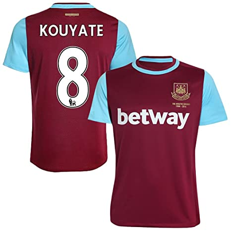 size 40 ea37f 8ce97 FC Football Jersey West Ham United #8 Kouyate Home Soccer ...