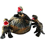 Squeak Dog Toys, IFOYO X-Large Durable Hide and Seek Puzzle Plush Interactive Dog Toys for Large / Small Dogs, Pets, Halloween Dog Toy