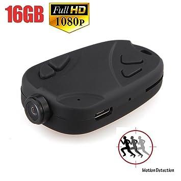 Cámara oculta, mini espía oculta, Full HD 1080p Video Recorder Mini voz la máquina
