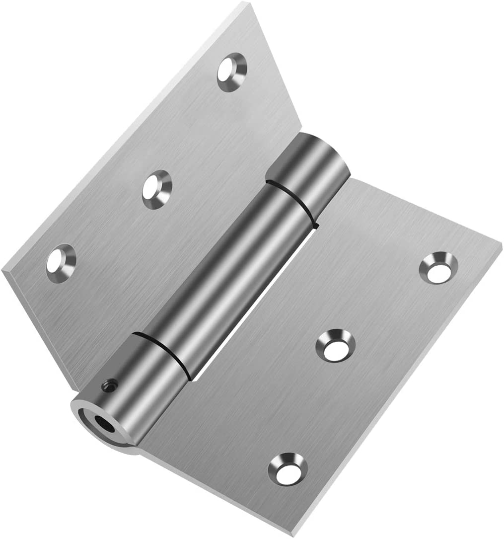 Pack Of 6 silent Self Closing Door Hinges Stainless Steel 304  4x3x3.0 3Pairs