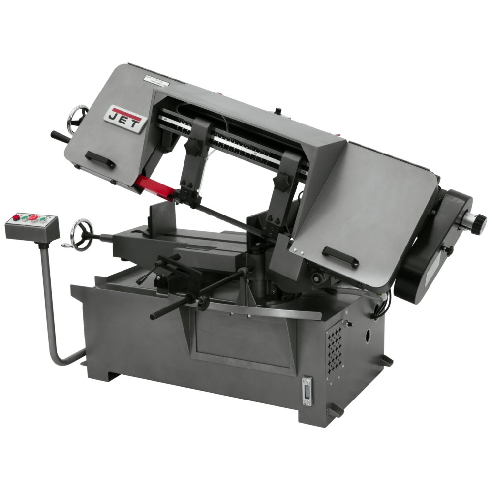 JET J-7020M 10-Inch by 16-Inch Single Phase Horizontal Mitering Bandsaw -  Power Metal Band Saws - Amazon.com