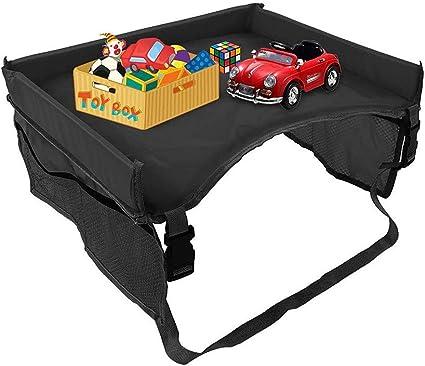 BOENTA Car Organiser Back Seat Travel Tray For Car Seat Car Travel Tray For Children Car Seat Organiser green