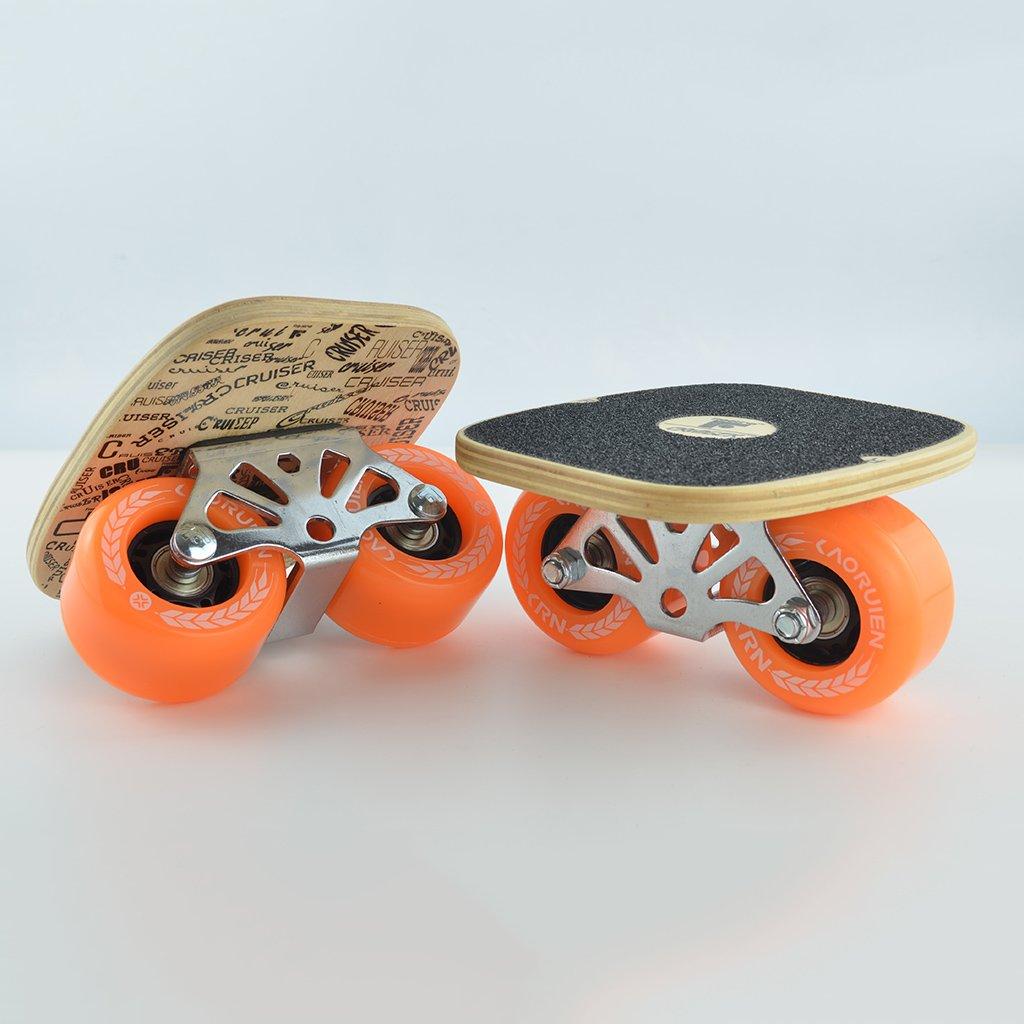 最新最全の ドリフトボードフリーラインスケートフラッシュ大人の子供四輪スプリットスケートボード輸送道路スクラブ手塗りパターン B07FLX5DPK Orange Orange B07FLX5DPK Orange, リフォーム建材屋:80d985aa --- a0267596.xsph.ru