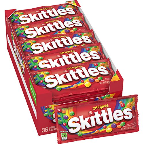 Skittles Original Candy, 2.17 ounce (36 Single (Cheap Wholesale Candy)